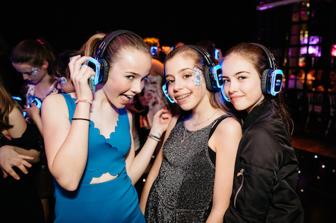 silent disco hire for bat mitzvah