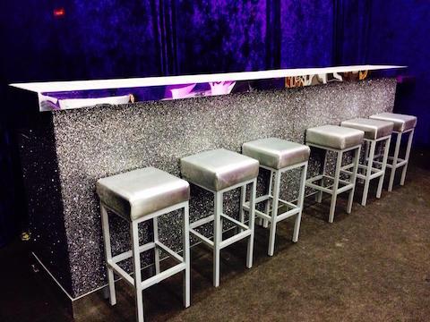 Glitter bar hire