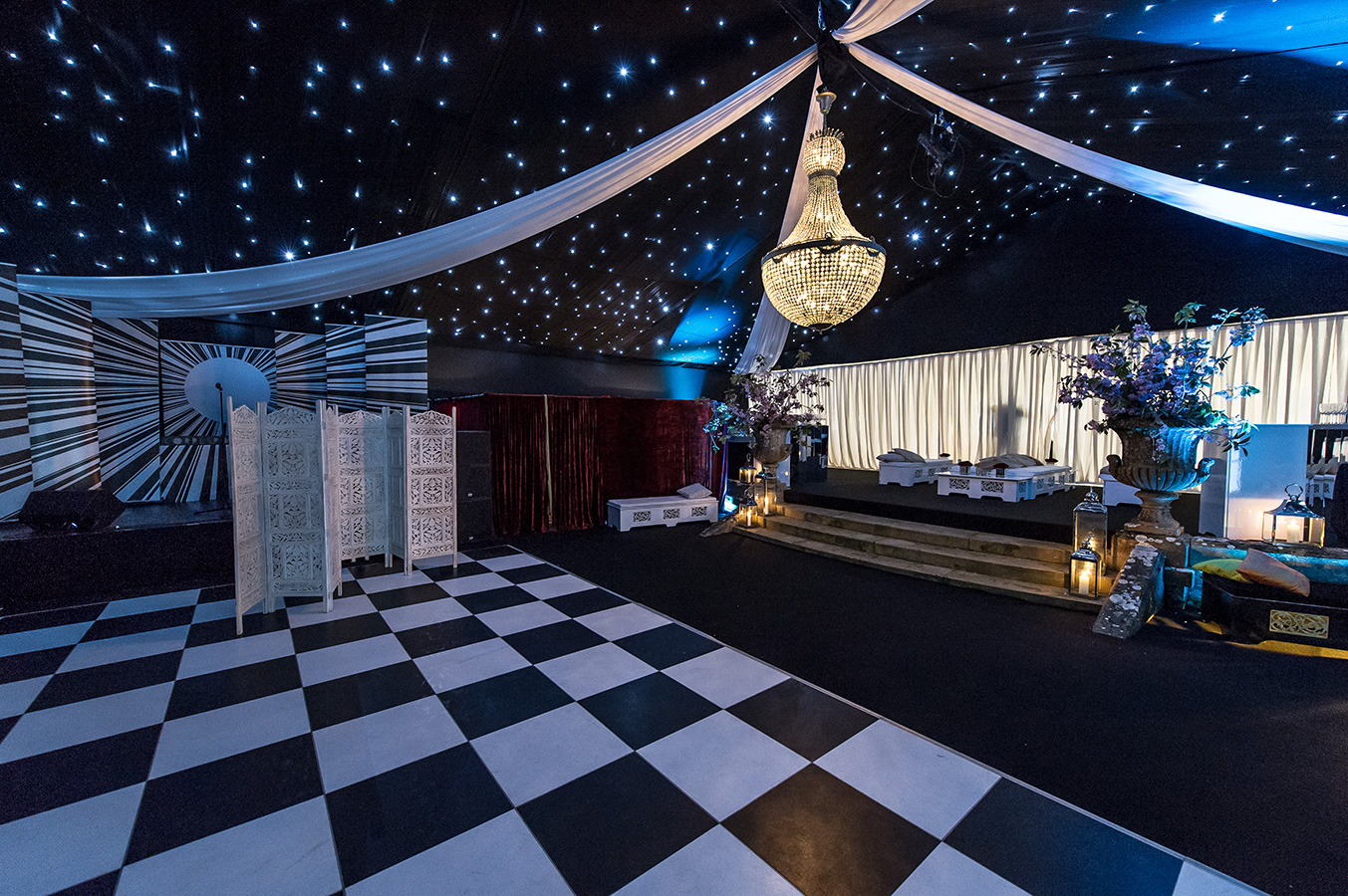 Marquee interior design