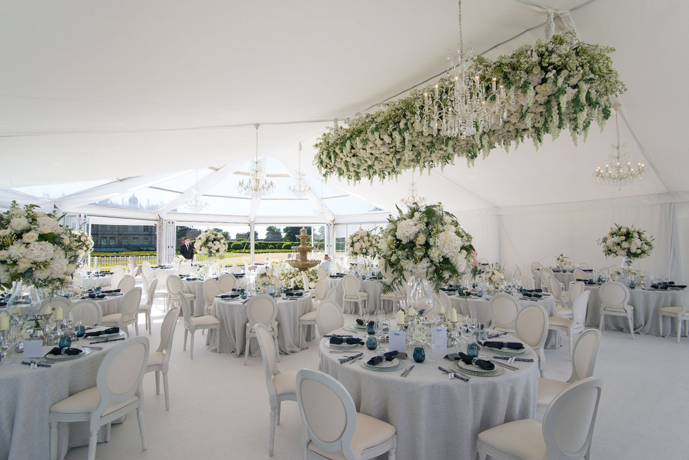 Wedding marquee design