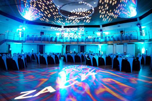 Bar mitzvah lighting design