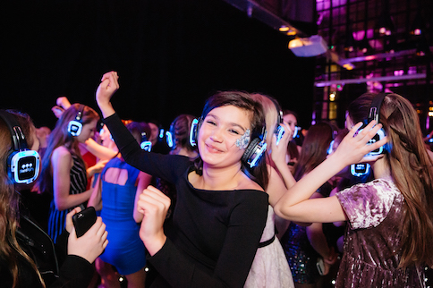 silent disco for bat mitzvah